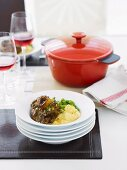 Osso Buco Milanese with Parmesan Polenta