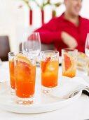 Aperol & Grapefruit Cocktails