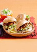 Slow cooked maple pork with apple slaw