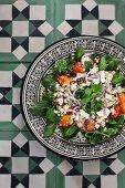 Couscoussalat mit Feta und Zitrusfrüchten (Marokko)
