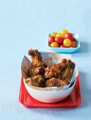 African-style fried chicken wings