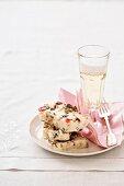 Quick and easy cassata (Italian dessert)