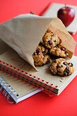 Cranberry & Oat Biscuits for Lunch