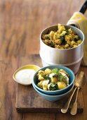 Aloo gobi, Indian cauliflower and potato dish
