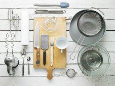 Utensils for baking cakes