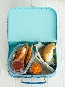 Teriyaki Chicken Rolls for Lunch