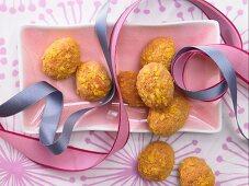 Crispy baked eggs for Easter