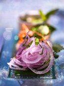 Red onion salad