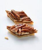 Pecan nut gingerbread