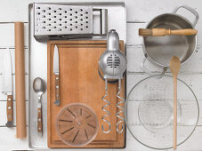Kitchen utensils for preparing fritters