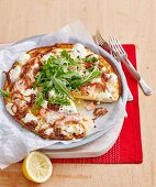 Onion and Goat's Cheese Frittata