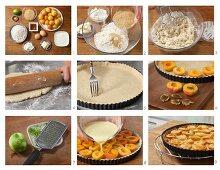 How to make apricot & yoghurt tart with honey