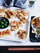 Fennel, cheese and chilli biscuits