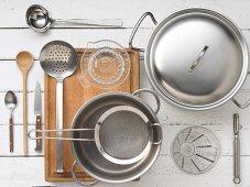 Kitchen utensils for preparing stock