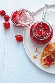 Tomato & raspberry jelly