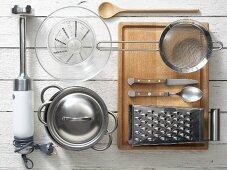 Kitchen utensils for preparing baby food
