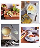 How to prepare rhubarb & apple crumble