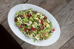 Celery salad with feta