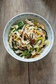 Thai Chinese cabbage salad