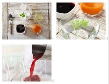 How to prepare cabbage and carrot cocktails with beetroot juice