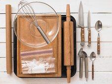Kitchen utensils for chicken nuggets