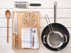 Utensils for preparing risotto