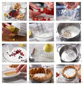 How to make a berry charlotte with yoghurt-quark cream