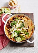 Mexican Rice and Bean Turkey Bake