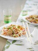 Japanese Omelette Salad