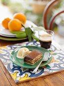 Bolo de Bolacha con Cafe e Chocolate (Portugal)
