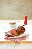Glazed Roast Beef