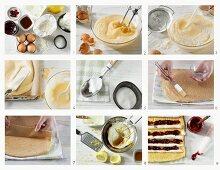 How to bake a cherry and quark sponge cake