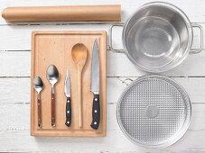 Kitchen utensils for preparing cereals