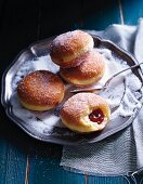 Doughnuts with jam filling