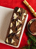 Fresh Cream Yule Log