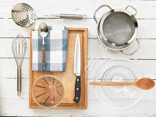 Kitchen utensils for making fritters
