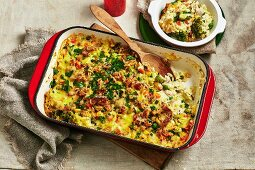 Tuna and Vegetable Mornay