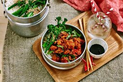 Chilli and Basil Pork
