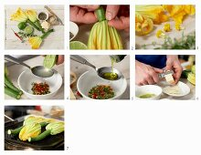 How to make grilled courgettes