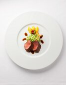 Venison with savoy cabbage