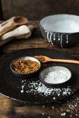 Zutaten für Kokosnuss-Karamell-Sauce