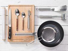 Kitchen utensils for preparing turkey