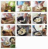 How to prepare fried cauliflower
