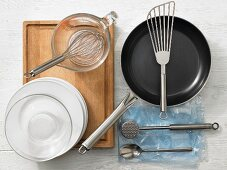 Utensils for Schnitzel (escalope)