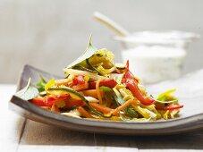 Vegetable gyros