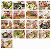 How to make courgette carpaccio