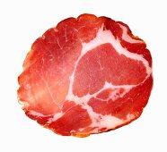 Capocollo calabrese (pork sausage, Italy)