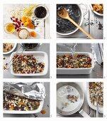 How to make wild rice porridge with oats, bulgur wheat and pearl barley