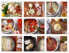How to make fish fillets with an almond crust