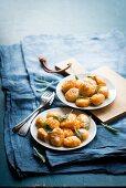 Pumpkin gnocchi with sage